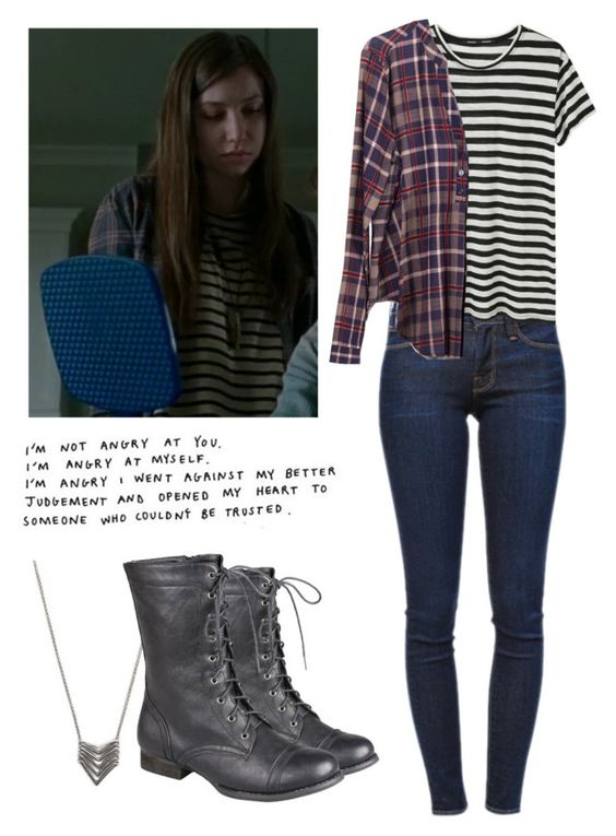 Enid 6x15 - twd / the walking dead by shadyannon on Polyvore featuring polyvore fashion style Lush Clothing Proenza Schouler Frame Denim Forever 21 clothing: