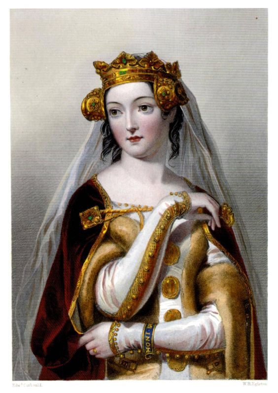 Philippa of Hainault (1314-1369) Queen consort to: Edward III of England