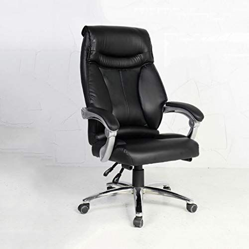 Geng Computer Chair Home Office Chair Leather Boss Chair Swivel Chair Study Room Backrest Business Comfort Executive Chair Home Office Chairs Chair Shop Chair