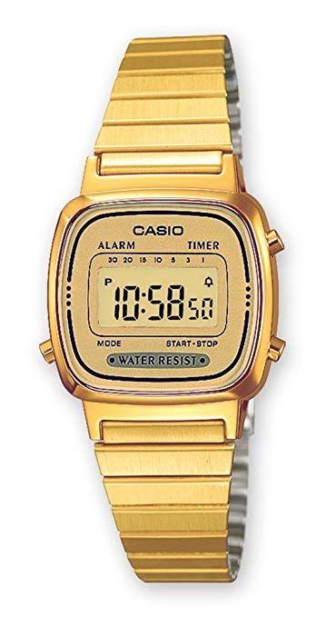 Las 10 Mejores Relojes Casio Mujer En 2018 Losmejoreslista Com Casio Mujer Reloj Casio Relojes Dorados