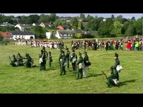 196ème anniversaire de la bataille de Waterloo :   Reconstitution de la bataille de Waterloo à Plancenoit, le dimanche 19 juin 2011