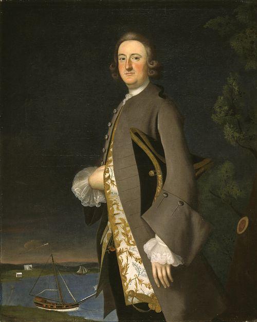 ab. 1750-1753 Joseph Blackburn - Portrait of Captain John Pigott