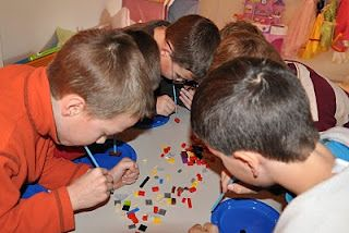 Lego party games