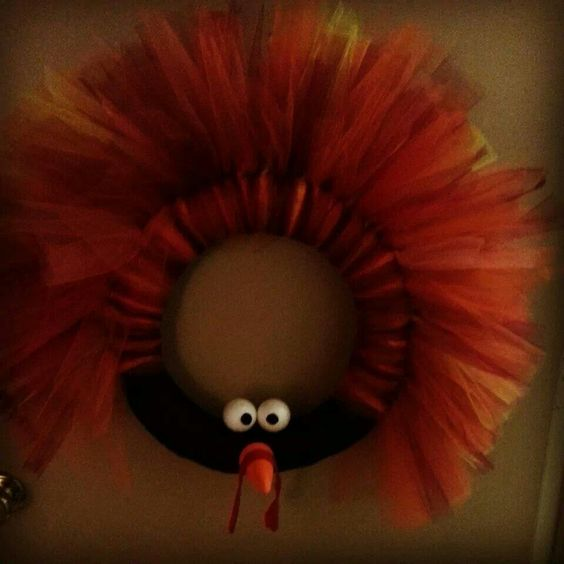 Turkey Wreath ♡