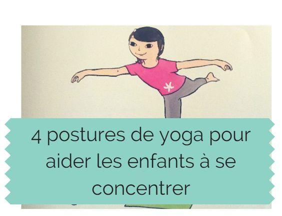 4 postures de yoga pour aider les enfants se concentrer yoga. Black Bedroom Furniture Sets. Home Design Ideas