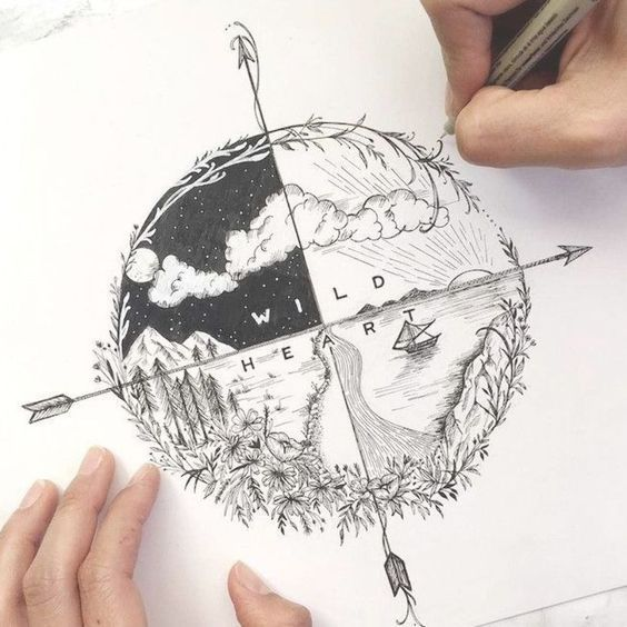 32 Cool Things To Draw When You Are Bored Art Tattoo Sketch Book Tattoos