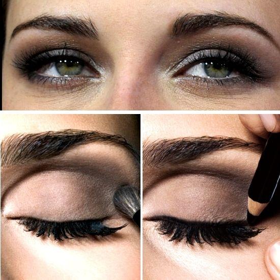 Kristen Stewart Smokey Eye Make-up