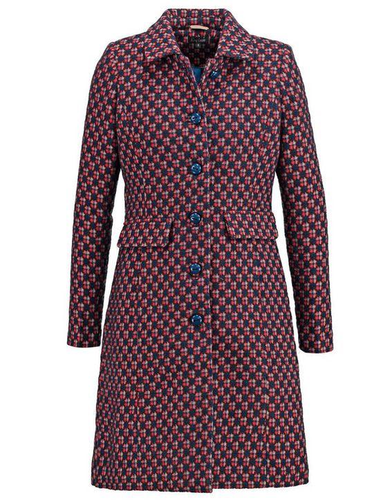 Manteau femme col en fourrure Kookai - 50 manteaux pour passer l'hiver au chaud - Elle