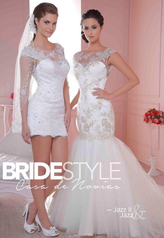 Jazz I y Jazz II - Colección Vestidos de Novia 2015. Bride Style Córdoba.