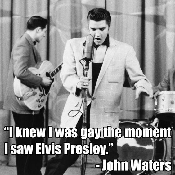 #Elvis #ElvisPresley #JohnWaters