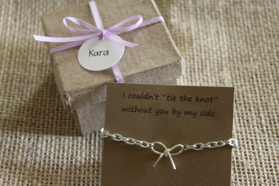 The Knot Wedding Gift List : ... gifts the knot maid of honor tie the knots ties wedding favors four 4