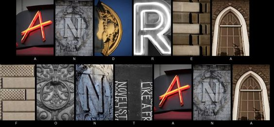 Create your Name from alphabet photos at http://apps.ifunster.com/photo_art_name