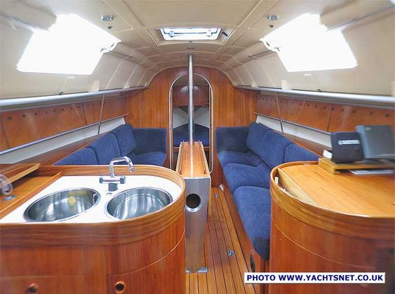 Sailboat interior by philippe starck sailboat interiors Philippe starck first design