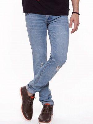 Cheap Monday Rip And Repair Slim Fit Jeans on koovs.com | mens ...