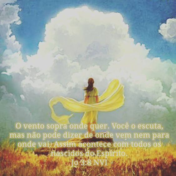 Ventos soprando... #João #bible