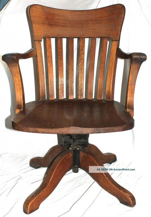 Antique Wooden Desk Chair On Wheels Best Sit Stand Desk Check More At Http Samopovar Com Antique Woo Desk Chair Diy Wooden Desk Chairs Vintage Office Chair