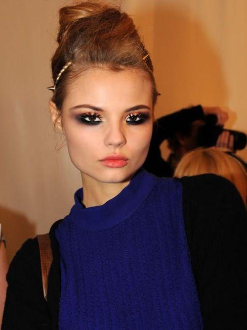 amazing makeup - Magdalena Frackowiak!