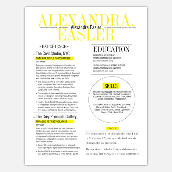 17 Best images about Haley + Resume on Pinterest Teacher resume - announcer sample resumes