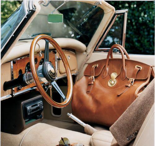 ralphlauren:  Weekend escape: the Cooper Bag is the perfect road-trip companion. See more: http://rlauren.co/1GcgRkt