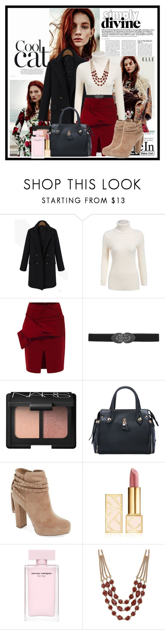 """""""Simply divine...."""" by cindy88 ❤ liked on Polyvore featuring maurices, NARS Cosmetics, Jessica Simpson, Tory Burch and Lucky Brand"""