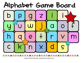 FREE ALPHABET GAME - {LOWER CASE AND UPPER CASE LETTERS ...