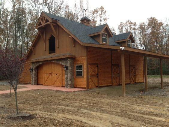 Beautiful Barn Custom Barn From King George County