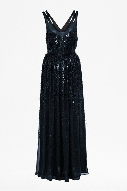Shimmer Shower Maxi Dress from French Connection