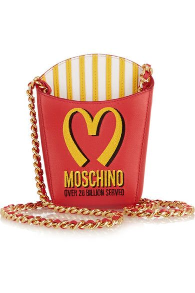 Do you want fries with that? @mcdonalds purse #accessories @moschino #fashion @sconesco #genius