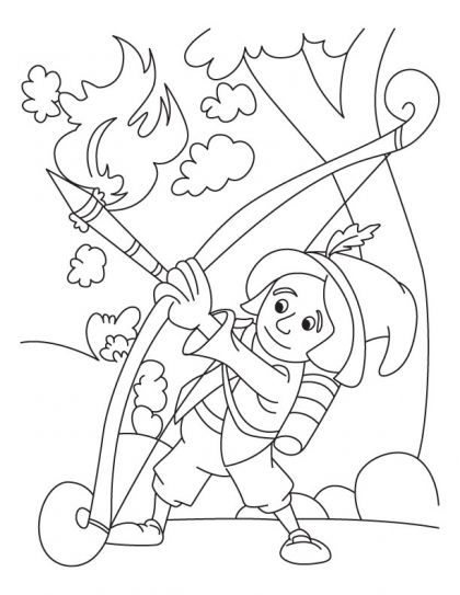 lag b omer coloring pages - photo#6