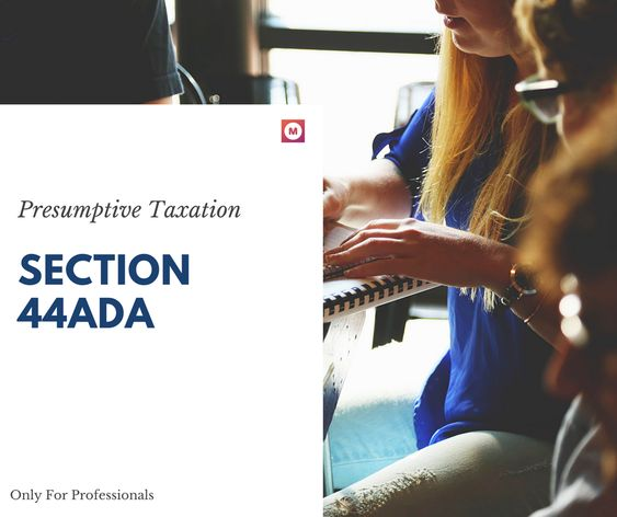 section 44ADA for Professional Income