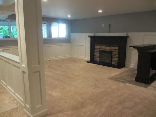 basements fireplaces and basement pole covers on pinterest