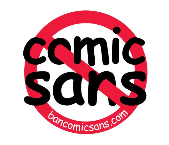 I loghi famosi rivisti in Comic Sans
