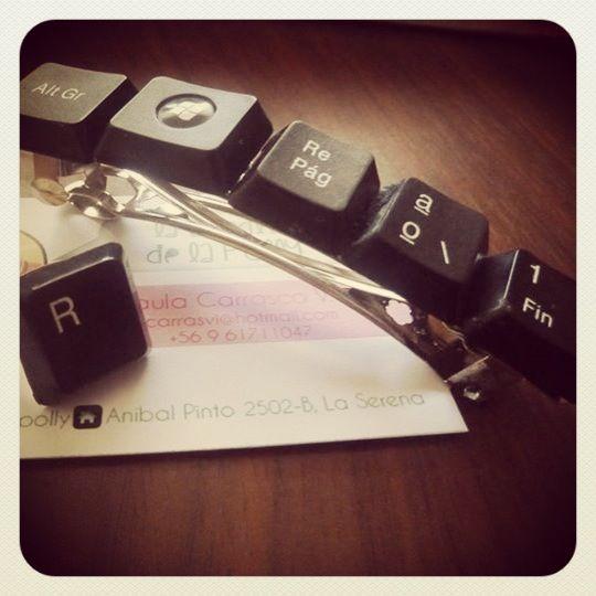 Pinche y anillo de teclado
