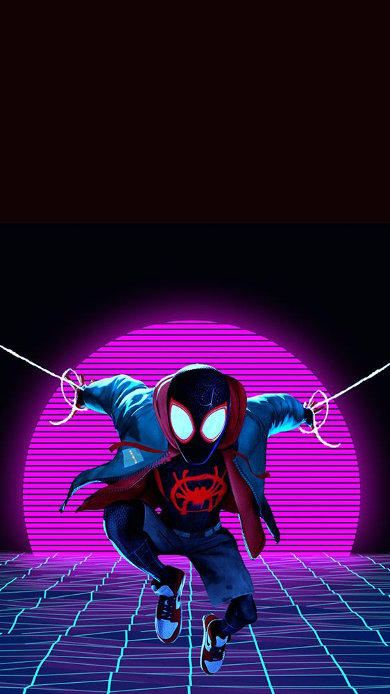 Morales Miles Iphone Wallpaper Superhero Wallpaper Marvel Wallpaper Spiderman