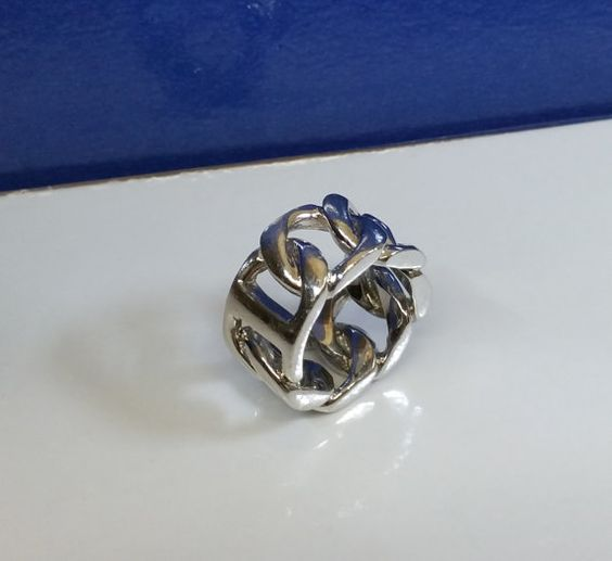 182 mm prachtvoller Ring Silber 925 Vintage SR421 von Schmuckbaron