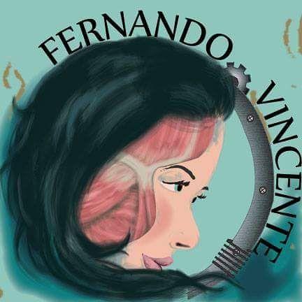 My First digital artwork ever. #Design emblem for Fernando Vicente created with #adobe #illustrator #digitalart #adobeillustrator #graphicdesign by gnomelike