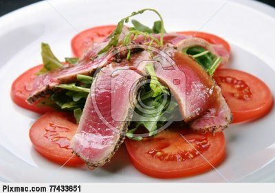 Tuna dishes | Atum cru | fotografia stock #3608330 | Pixmac