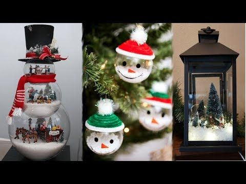7 Cheap Easy Diy Christmas Ornaments Pinterest Inspired Youtube Paper Christmas Decorations Diy Christmas Ornaments Easy Easy Christmas Diy