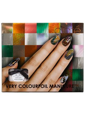 Ciat� Very Colourfoil Manicure Review: Makeup: allure.com