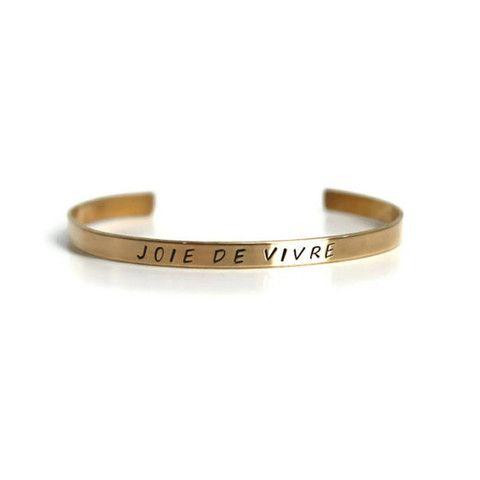 Joie De Vivre bracelet