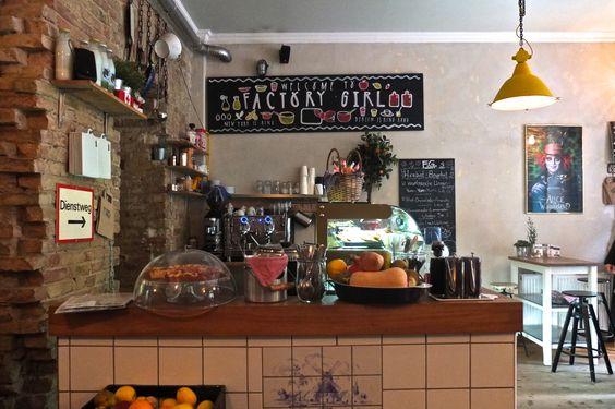 Factory Girl, Simon-Dach-Str 10, Friedrichshain-Berlin #berlin - heimat küche bar