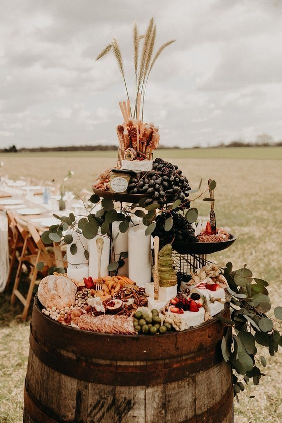 Trending Now 25 The Most Epic Grazing Table Ideas Wedding