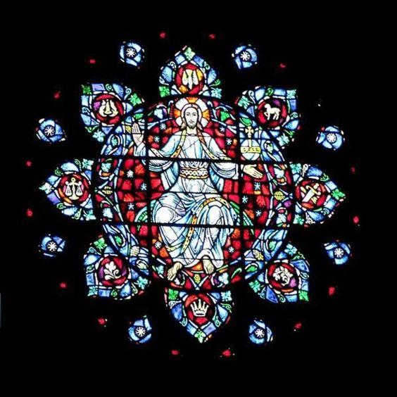 基督教染色玻璃