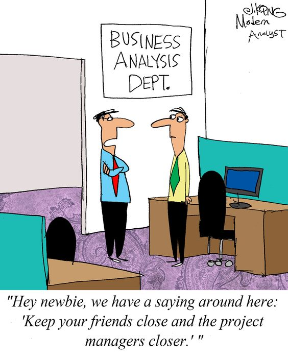 Humor - Cartoon Advice for the New Business Analyst Business - business analysis