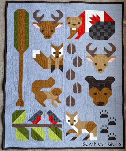 Forest Friends pattern release | Sew Fresh Quilts | Bloglovin':
