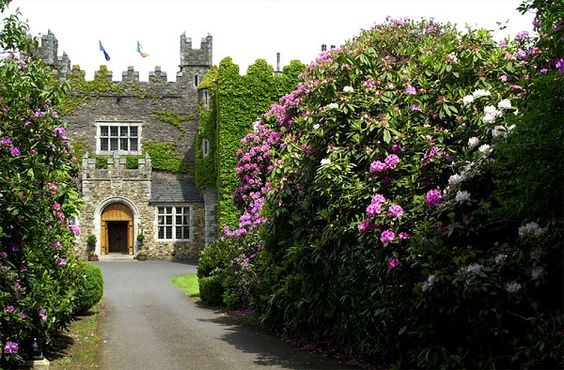 Waterford Castle Hotel, Ireland is a genuine Irish Castle  turned into a hotel