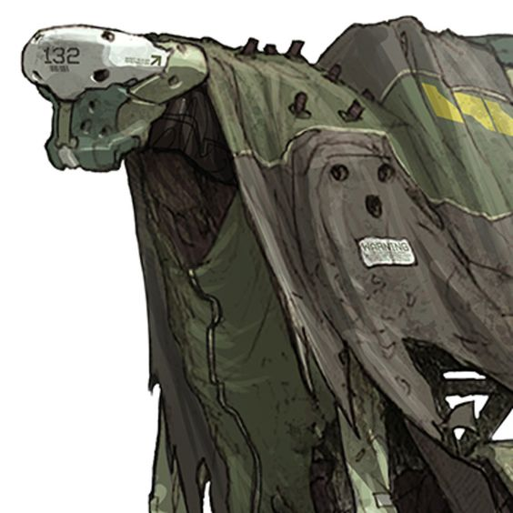 Hunchbacked dude. Quick color pass.