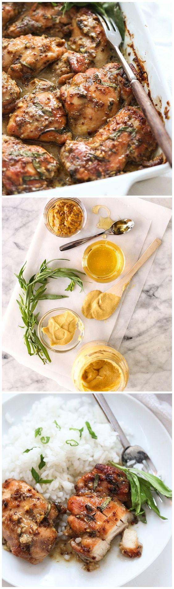 Honey Mustard Chicken   Recipe   Sauces, Honey mustard and ...
