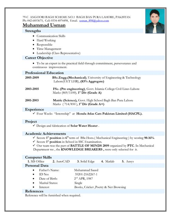 Electrical Engineer Resume Example - http\/\/wwwresumecareerinfo - mechanical engineer resume sample