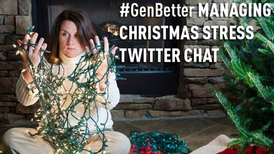 Join me and Medibank #GenBetter at our 'Managing Christmas Stress' Twitter Chat this Wednesday 18th December at 7pm.